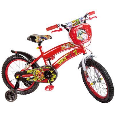 Bicicleta ARO 16 - Dragon Ball Z - Uni Toys