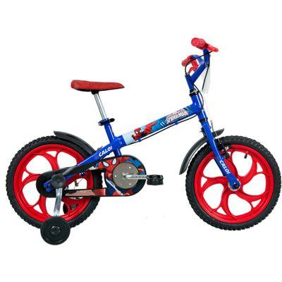 Bicicleta ARO 16 - Marvel - Spider-Man - Caloi