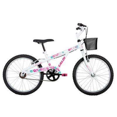 Bicicleta ARO 20 - Ceci A16 - Branca - Caloi