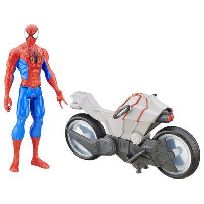 Boneco com Veículo - Spider-Man - Titan Hero - Hasbro