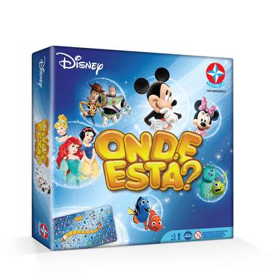 Jogo - Onde Está Disney - Estrela