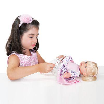 Boneca Mini Baby - Faz Xixi - Cotiplás