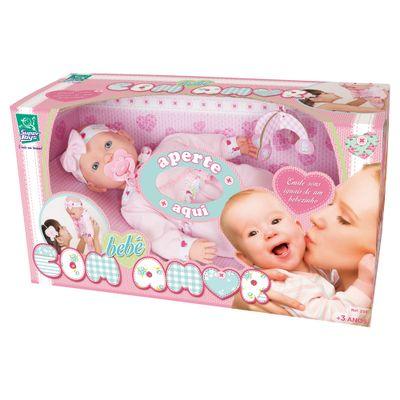 Boneca Bebê com Amor - Cotiplás