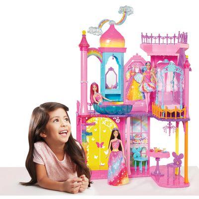 Playset Castelo Arco-íris - Barbie - Mattel
