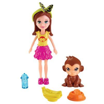 Boneca Polly Pocket - Festa das Borboletas - Lila - Mattel