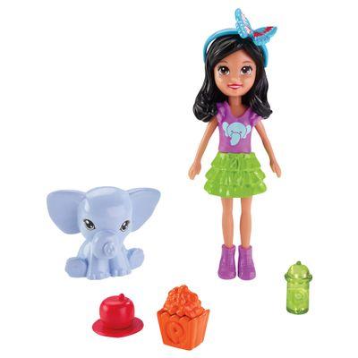 Boneca Polly Pocket - Festa das Borboletas - Crissy - Mattel