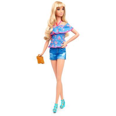 Boneca Barbie Mattel Fashions 43 Lacey Blue Dtf06