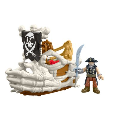 Playset Imaginext - Pirata - Billy Bones Boat - Mattel