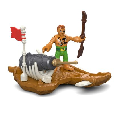 Boneco Imaginext - Pirata - Capitão Kidd - Mattel