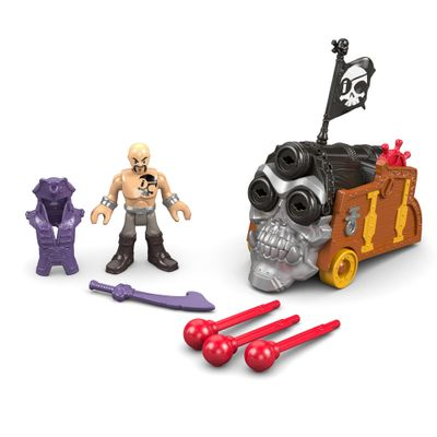 Boneco Imaginext - Pirata - Davey Jones  - Mattel - Boneco Imaginext - Pirata - Davey Jones - Mattel