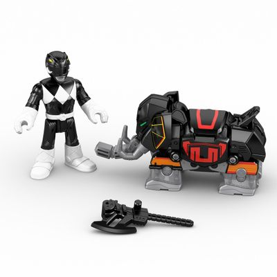 Boneco Imaginext - Power Rangers - Preto - Mattel