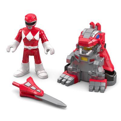 Boneco Imaginext - Power Rangers - Vermelho - Mattel