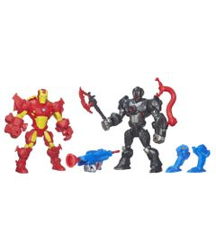 Bonecos-Marvel---Super-Hero-Mashers---Iron-Man-vs-Ultron---Hasbro---Disney
