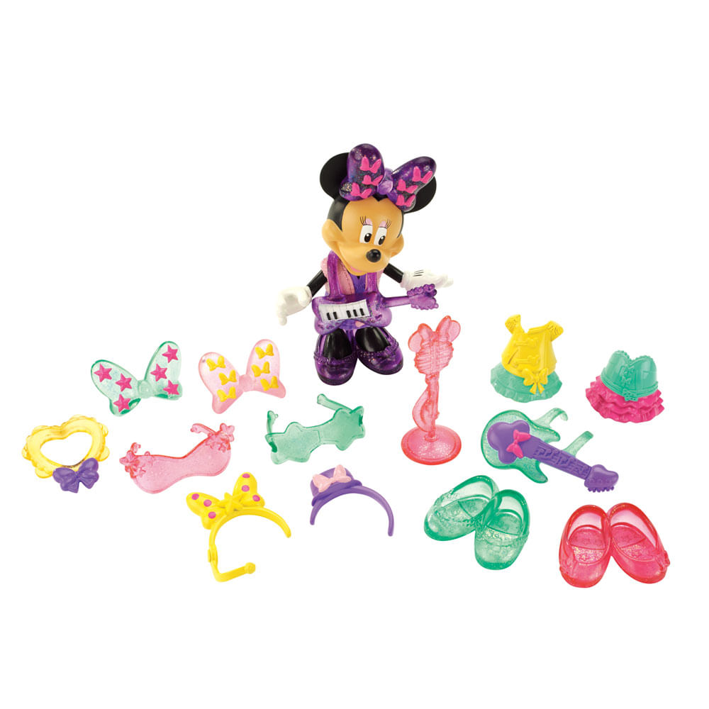 Minnie Estrela de Rock - Mickey Mouse Clubhouse - Fisher - Price