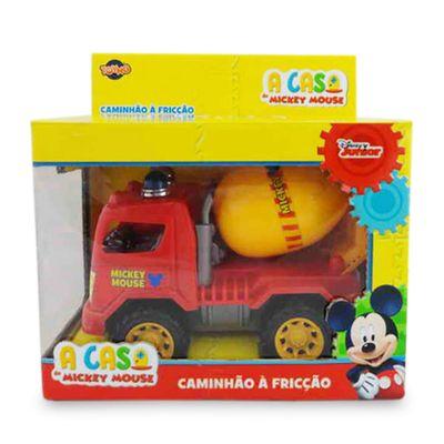 Caminhao-Construcao-Friccao---Mickey-Mouse-Vermelho---Toyng