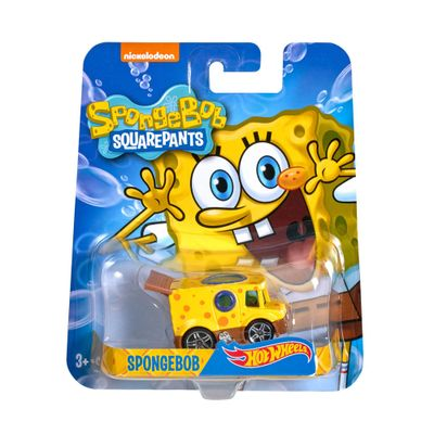 Veículo - Hot Wheels - Bob Esponja - Mattel