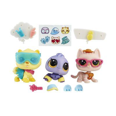 Conjunto Littlest Pet Shop - Luau da Praia - Hasbro