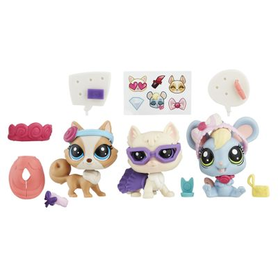 Conjunto Littlest Pet Shop - Gala e Glamour - Hasbro