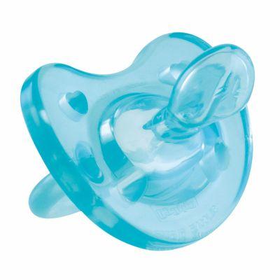 Chupeta Soft Ortodôntica de Silicone - Azul - Tam. 2 - Acima de 1 Ano - Chicco