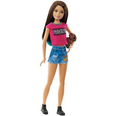 Boneca Barbie Mattel Família Irmãs Com Pet - Skipper Dmb27