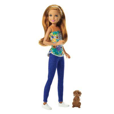 Boneca Barbie - Barbie e suas Irmãs em Busca dos Cachorrinhos - Stacie - Mattel