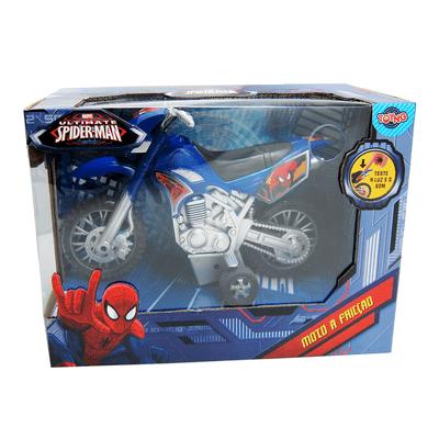 Moto Fricção -  Spider Man - Toyng - Moto Fricção - Spider Man - Toyng