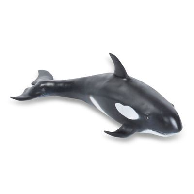 Figura de Animal - 5 cm - Bicho Mundi - Animais do Mar - Orca - DTC