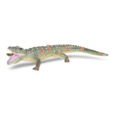 Figura de Animal - 12 cm - Bicho Mundi - Répteis - Jacaré - DTC