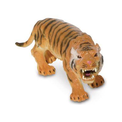 Figura de Animal - 12 cm - Bicho Mundi - Animais da Selva - Tigre - DTC