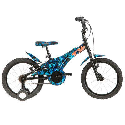Bicicleta ARO 16 - Camuflada - Azul - Tito Bikes