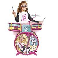 Bateria-Infantil---Barbie-Glamourosa---Fun