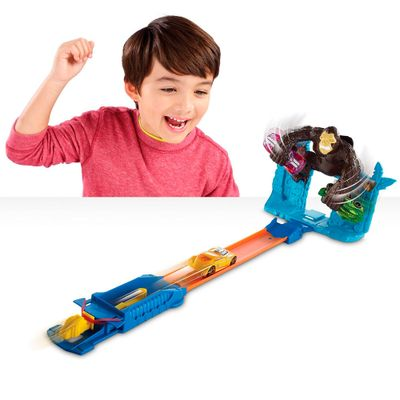 Pista Hot Wheels Radical - Escape do Gorila - Mattel