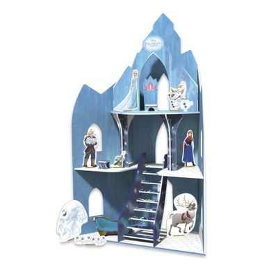 Playset - Castelo de Madeira - Disney - Frozen - Xalingo