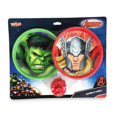Kit Agarra e Lança - Marvel Avengers Assemble - Hulk e Thor - Toyng