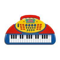 Mini-Teclado-Musical---Azul---DTC-1507-frente