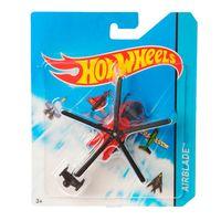 Aviao-Hot-Wheels---Skybusters-Airblade-Vermelho---Mattel