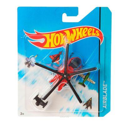 Avião Hot Wheels - Skybusters Airblade Vermelho - Mattel