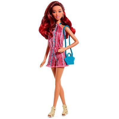 Boneca Barbie Fashionistas - Vestido Azteca - Mattel
