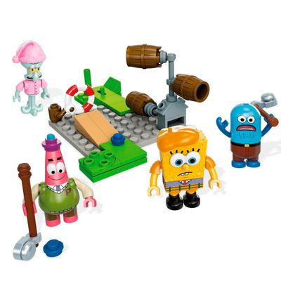 Conjunto Mega Bloks - Bob Esponja - Golf Louco - Mattel