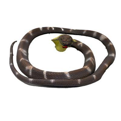Figura de Animal - 12 cm - Bicho Mundi - Répteis - Cobra Naja - DTC