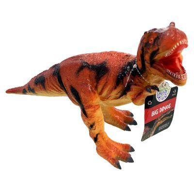 Figura de Dinossauro - 21 cm - Bicho Mundi - Big Dino - Tiranossauro Rex Vermelho - DTC