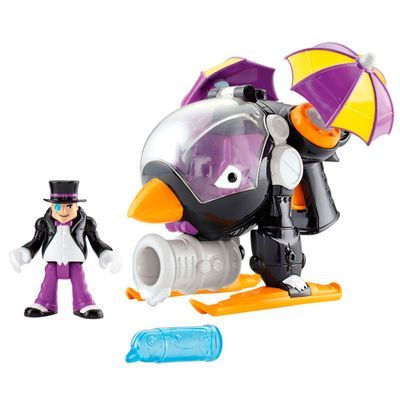 Helicóptero do Pinguim - Imaginext DC Super Amigos - Fisher-Price