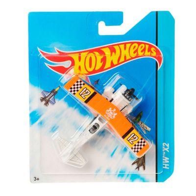 Avião Hot Wheels - HW X2 Laranja - Mattel