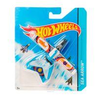 Aviao-Hot-Wheels---Sea-Arrow---Mattel