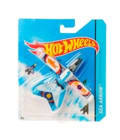 Aviao-Hot-Wheels---Sea-Arrow---Mattel