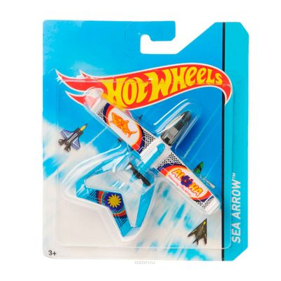 Avião Hot Wheels - Sea Arrow - Mattel