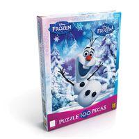 Jogo-de-Quebra-Cabeca---100-pecas---Disney-Frozen---Olaf---Grow