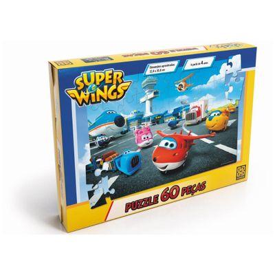 Jogo de Quebra-Cabeça - 60 peças - Super Wings - Grow