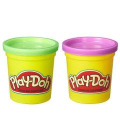 Massinha-Play-Doh---2-Potes---Roxo-e-Verde---Hasbro-Frente