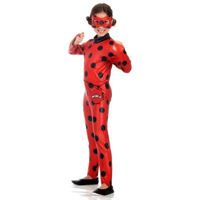 Fantasia Infantil - Miraculous - Ladybug - Sulamericana